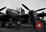 Image of Native tribesmen with P-38 planes New Guinea, 1944, second 6 stock footage video 65675030622