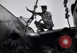 Image of Native tribesmen with P-38 planes New Guinea, 1944, second 11 stock footage video 65675030622