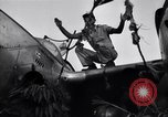 Image of Native tribesmen with P-38 planes New Guinea, 1944, second 13 stock footage video 65675030622