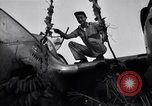 Image of Native tribesmen with P-38 planes New Guinea, 1944, second 14 stock footage video 65675030622