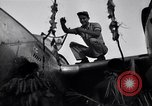 Image of Native tribesmen with P-38 planes New Guinea, 1944, second 15 stock footage video 65675030622