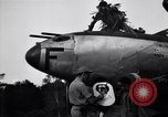 Image of Native tribesmen with P-38 planes New Guinea, 1944, second 16 stock footage video 65675030622