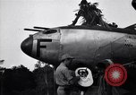 Image of Native tribesmen with P-38 planes New Guinea, 1944, second 17 stock footage video 65675030622