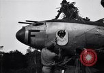 Image of Native tribesmen with P-38 planes New Guinea, 1944, second 19 stock footage video 65675030622