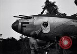 Image of Native tribesmen with P-38 planes New Guinea, 1944, second 20 stock footage video 65675030622