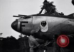Image of Native tribesmen with P-38 planes New Guinea, 1944, second 21 stock footage video 65675030622