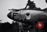 Image of Native tribesmen with P-38 planes New Guinea, 1944, second 22 stock footage video 65675030622