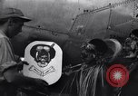 Image of Native tribesmen with P-38 planes New Guinea, 1944, second 24 stock footage video 65675030622