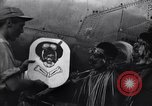 Image of Native tribesmen with P-38 planes New Guinea, 1944, second 26 stock footage video 65675030622