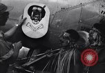 Image of Native tribesmen with P-38 planes New Guinea, 1944, second 28 stock footage video 65675030622