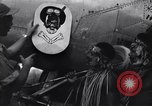 Image of Native tribesmen with P-38 planes New Guinea, 1944, second 29 stock footage video 65675030622