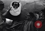 Image of Native tribesmen with P-38 planes New Guinea, 1944, second 30 stock footage video 65675030622