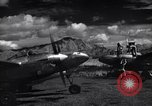 Image of P-38 planes and ground crews of 80th Fighter Squadron Port Moresby New Guinea, 1944, second 9 stock footage video 65675030623