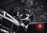 Image of Mechanics of  80th Fighter Squadron work on a P-38 New Guinea, 1944, second 17 stock footage video 65675030624