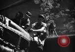 Image of Mechanics of  80th Fighter Squadron work on a P-38 New Guinea, 1944, second 18 stock footage video 65675030624
