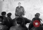 Image of US Army Air Force briefing European theater, 1943, second 30 stock footage video 65675030631