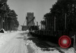 Image of Snow removal at rocket facility Peenemunde Germany, 1943, second 22 stock footage video 65675030646