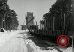 Image of Snow removal at rocket facility Peenemunde Germany, 1943, second 23 stock footage video 65675030646