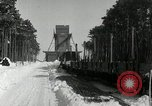 Image of Snow removal at rocket facility Peenemunde Germany, 1943, second 24 stock footage video 65675030646