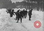Image of Snow removal at rocket facility Peenemunde Germany, 1943, second 25 stock footage video 65675030646