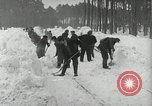 Image of Snow removal at rocket facility Peenemunde Germany, 1943, second 26 stock footage video 65675030646