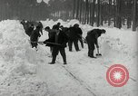 Image of Snow removal at rocket facility Peenemunde Germany, 1943, second 28 stock footage video 65675030646