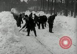 Image of Snow removal at rocket facility Peenemunde Germany, 1943, second 29 stock footage video 65675030646
