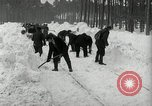Image of Snow removal at rocket facility Peenemunde Germany, 1943, second 30 stock footage video 65675030646