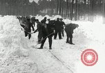 Image of Snow removal at rocket facility Peenemunde Germany, 1943, second 31 stock footage video 65675030646