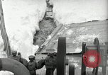Image of Snow removal at rocket facility Peenemunde Germany, 1943, second 54 stock footage video 65675030646