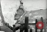 Image of Snow removal at rocket facility Peenemunde Germany, 1943, second 55 stock footage video 65675030646