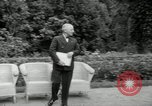Image of Truman Stalin and Attlee Potsdam Germany, 1945, second 13 stock footage video 65675030652