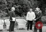 Image of Truman Stalin and Attlee Potsdam Germany, 1945, second 18 stock footage video 65675030652