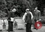 Image of Truman Stalin and Attlee Potsdam Germany, 1945, second 19 stock footage video 65675030652