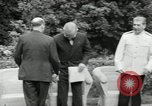 Image of Truman Stalin and Attlee Potsdam Germany, 1945, second 20 stock footage video 65675030652