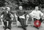Image of Truman Stalin and Attlee Potsdam Germany, 1945, second 24 stock footage video 65675030652