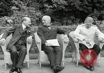 Image of Truman Stalin and Attlee Potsdam Germany, 1945, second 25 stock footage video 65675030652