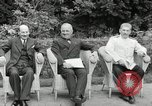 Image of Truman Stalin and Attlee Potsdam Germany, 1945, second 26 stock footage video 65675030652