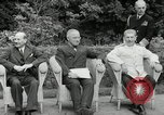 Image of Truman Stalin and Attlee Potsdam Germany, 1945, second 33 stock footage video 65675030652
