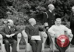Image of Truman Stalin and Attlee Potsdam Germany, 1945, second 34 stock footage video 65675030652
