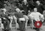 Image of Truman Stalin and Attlee Potsdam Germany, 1945, second 36 stock footage video 65675030652