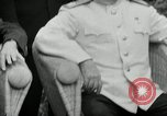 Image of Truman Stalin and Attlee Potsdam Germany, 1945, second 41 stock footage video 65675030652