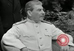 Image of Truman Stalin and Attlee Potsdam Germany, 1945, second 42 stock footage video 65675030652