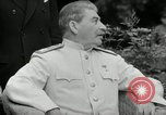 Image of Truman Stalin and Attlee Potsdam Germany, 1945, second 43 stock footage video 65675030652