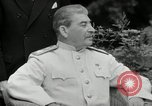 Image of Truman Stalin and Attlee Potsdam Germany, 1945, second 46 stock footage video 65675030652