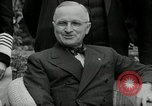 Image of Truman Stalin and Attlee Potsdam Germany, 1945, second 52 stock footage video 65675030652