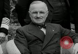Image of Truman Stalin and Attlee Potsdam Germany, 1945, second 54 stock footage video 65675030652