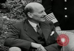 Image of Truman Stalin and Attlee Potsdam Germany, 1945, second 56 stock footage video 65675030652