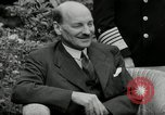 Image of Truman Stalin and Attlee Potsdam Germany, 1945, second 59 stock footage video 65675030652