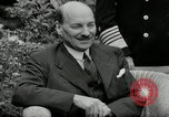 Image of Truman Stalin and Attlee Potsdam Germany, 1945, second 60 stock footage video 65675030652